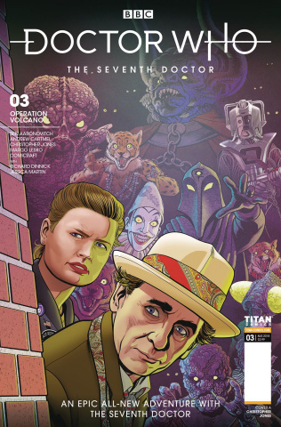 Doctor Who: The Seventh Doctor #3 (Jones Cover)