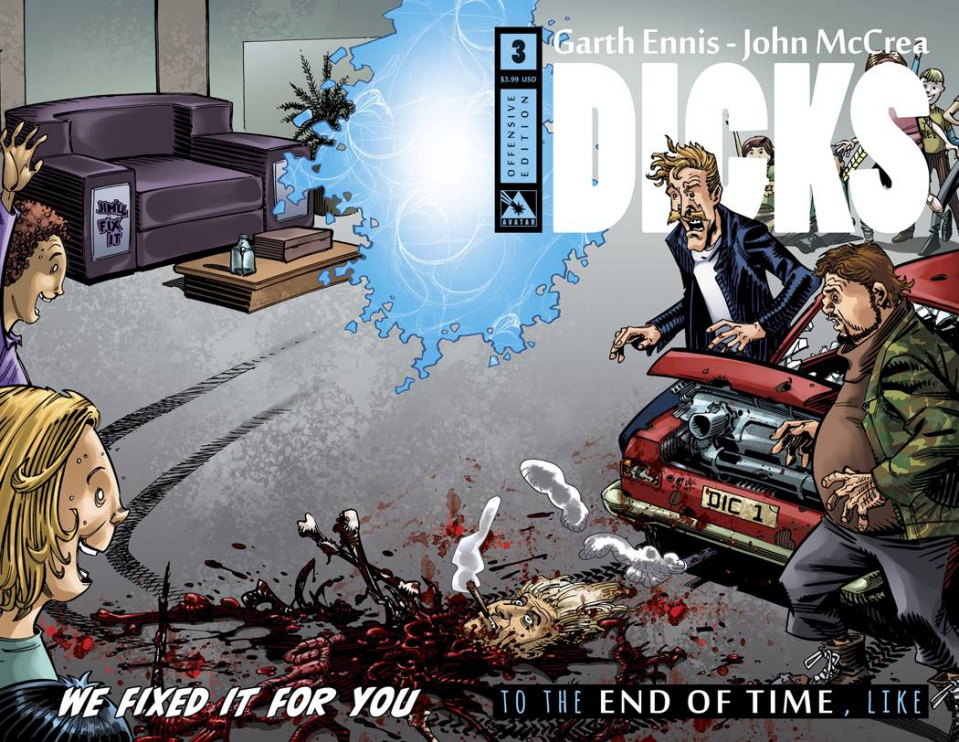 Dicks: End of Time #3 (Offensive Cover)