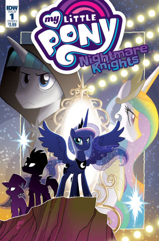 My Little Pony: Nightmare Knights #1 (Fleecs Cover)