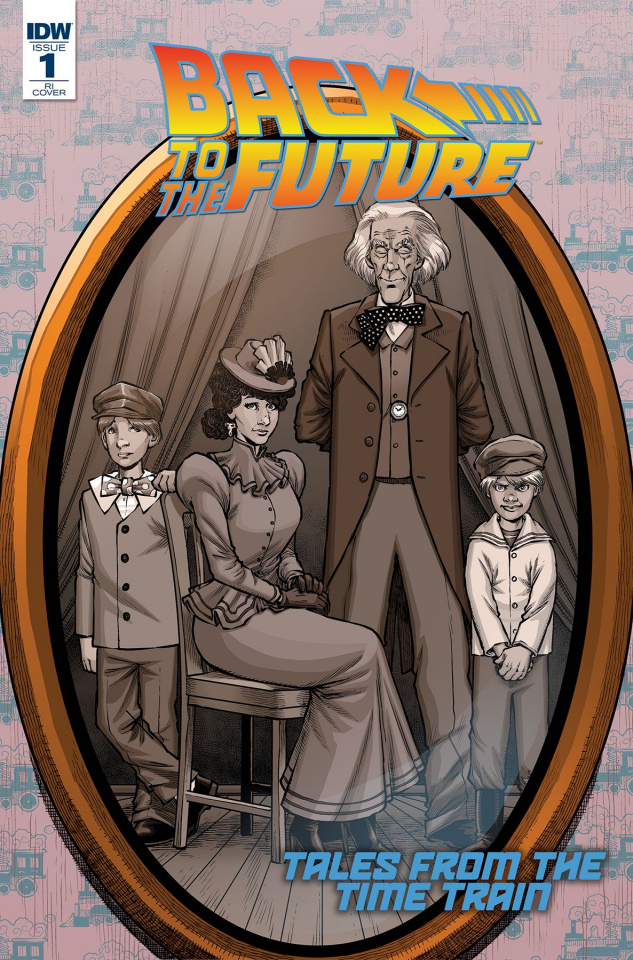 Back to the Future: Time Train #1 (10 Copy Cover)