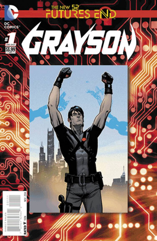 Grayson: Future's End #1