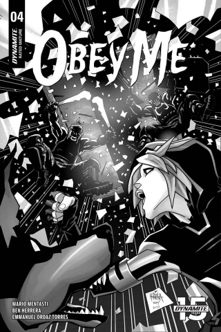 Obey Me #4 (10 Copy Herrera B&W Cover)
