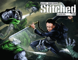 Stitched #17 (Wrap Cover)