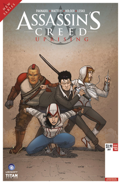 Assassin's Creed: Uprising #3 (Araujo Cover)