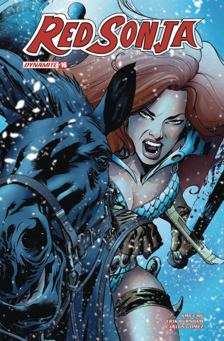 Red Sonja #16 (McKone Cover)