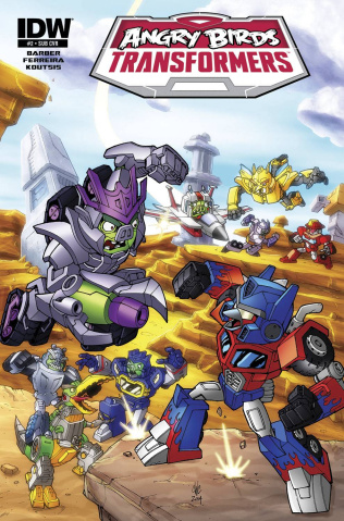 Angry Birds / Transformers #2 (Subscription Cover)