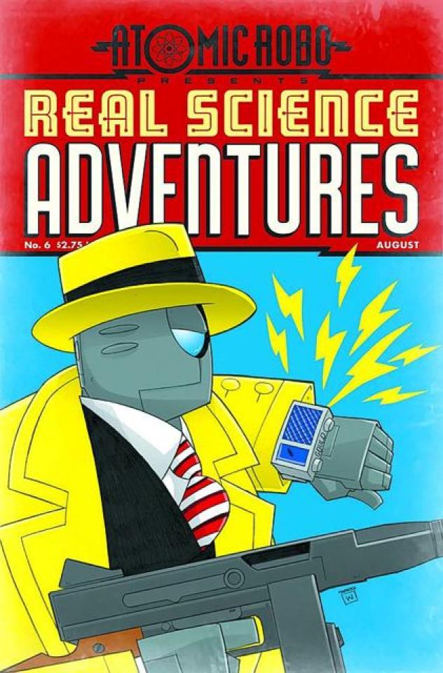 Atomic Robo: Real Science Adventures #6