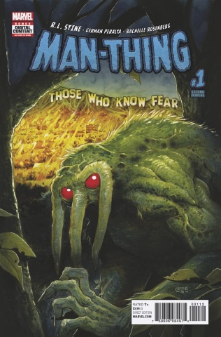 Man-Thing #1 (2nd Printing Crook Cover)