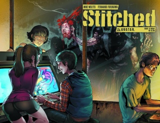 Stitched #19 (Wrap Cover)