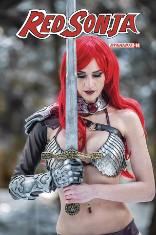 Red Sonja #14 (Decobray Cosplay Cover)