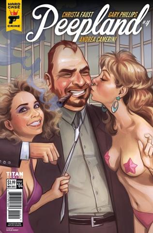 Hard Case Crime: Peepland #4 (Yarsky Cover)