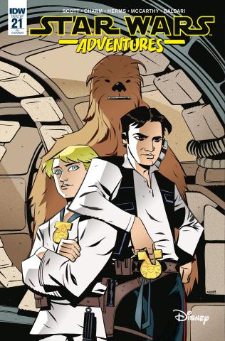 Star Wars Adventures #21 (10 Copy Oeming Cover)