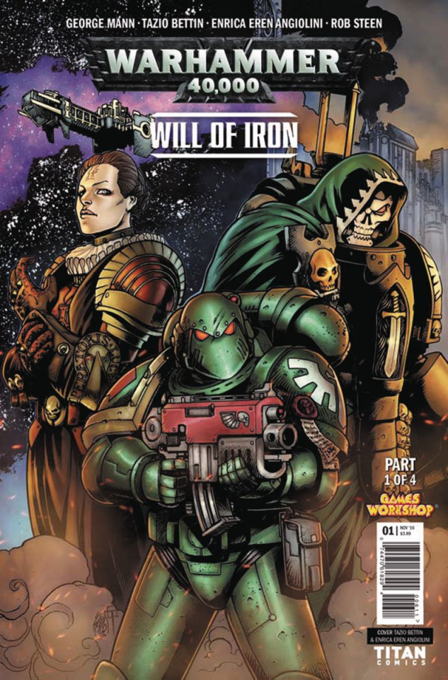 Warhammer 40,000: Will of Iron #1 (Bettin Cover)