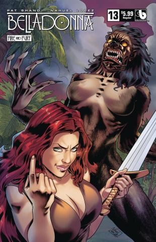 Belladonna: Fire and Fury #13