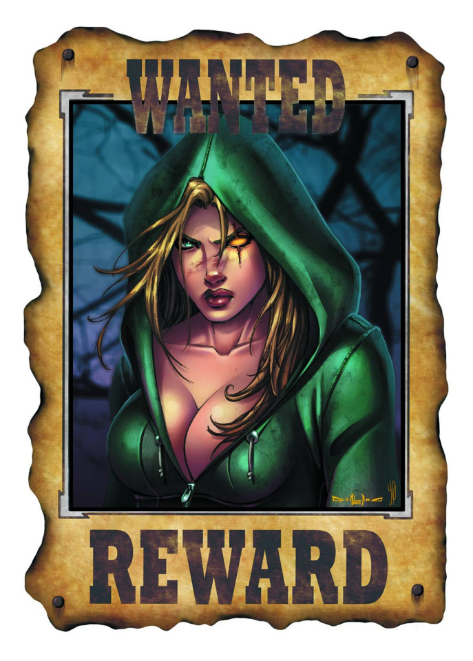 Grimm Fairy Tales: Robyn Hood - Wanted #2 (Qualano Cover)