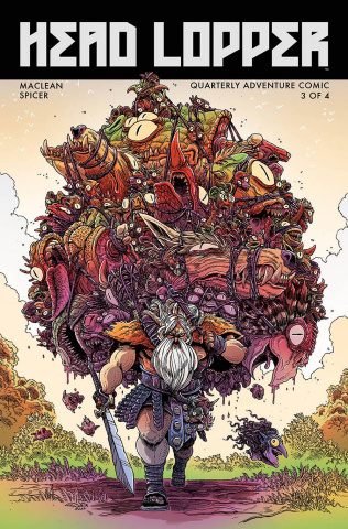 Head Lopper #3 (Stokoe Cover)