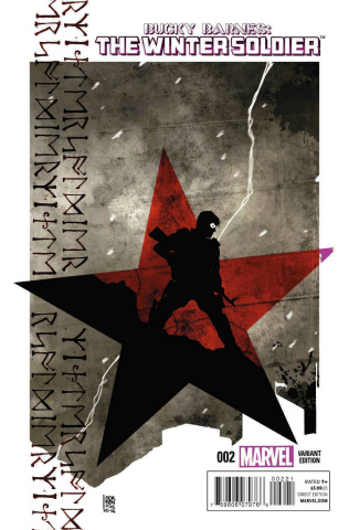 Bucky Barnes: The Winter Soldier #2 (Sorrentino Cover)