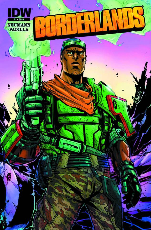 Borderlands: Origins #1 (4th Printing)