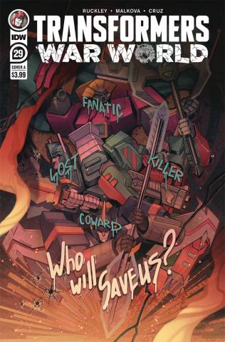 The Transformers #29 (Malkova Cover)