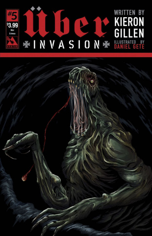Über: Invasion #5 (War Crimes Cover)