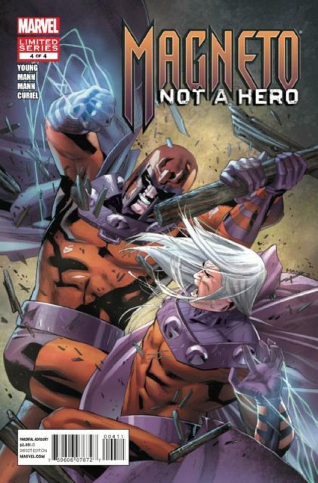Magneto: Not a Hero #4