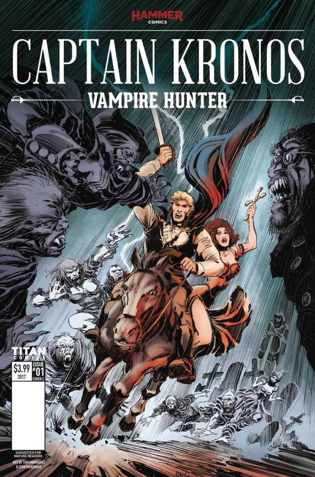 Captain Kronos #1 (Mandrake Cover)