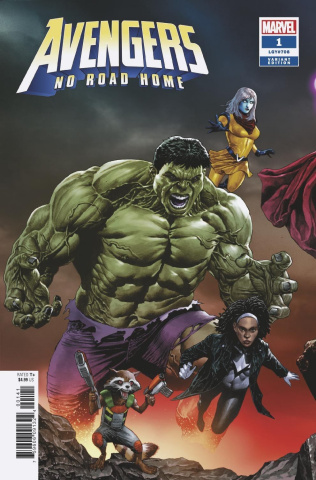 Avengers: No Road Home #1 (Suayan Connecting Cover)