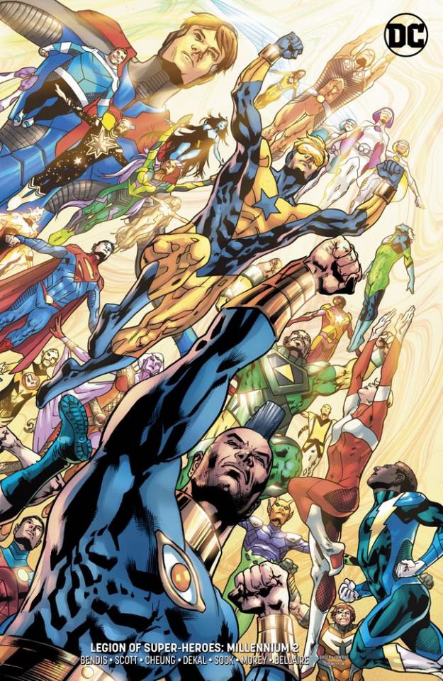 Legion of Super Heroes: Millennium #2 (Card Stock Cover)