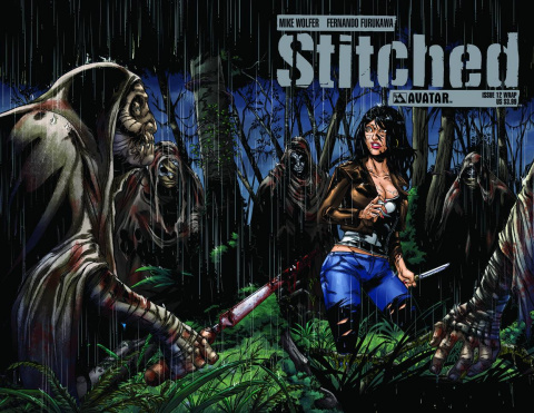 Stitched #12 (Wrap Cover)
