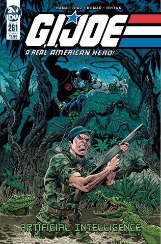G.I. Joe: A Real American Hero #261 (Royle Cover)