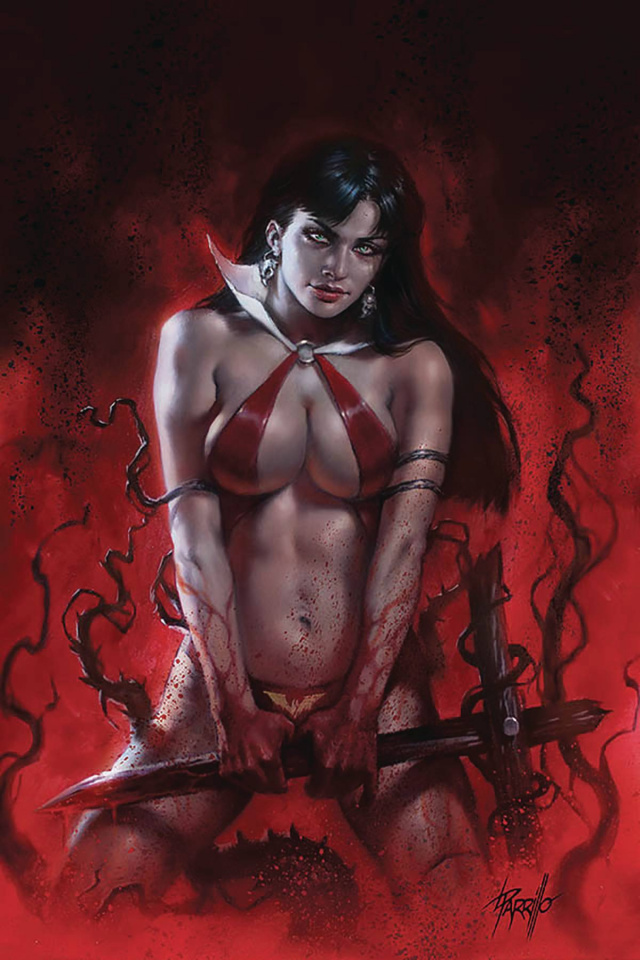 Vengeance of Vampirella #9 (CGC Graded Parrillo Cover)