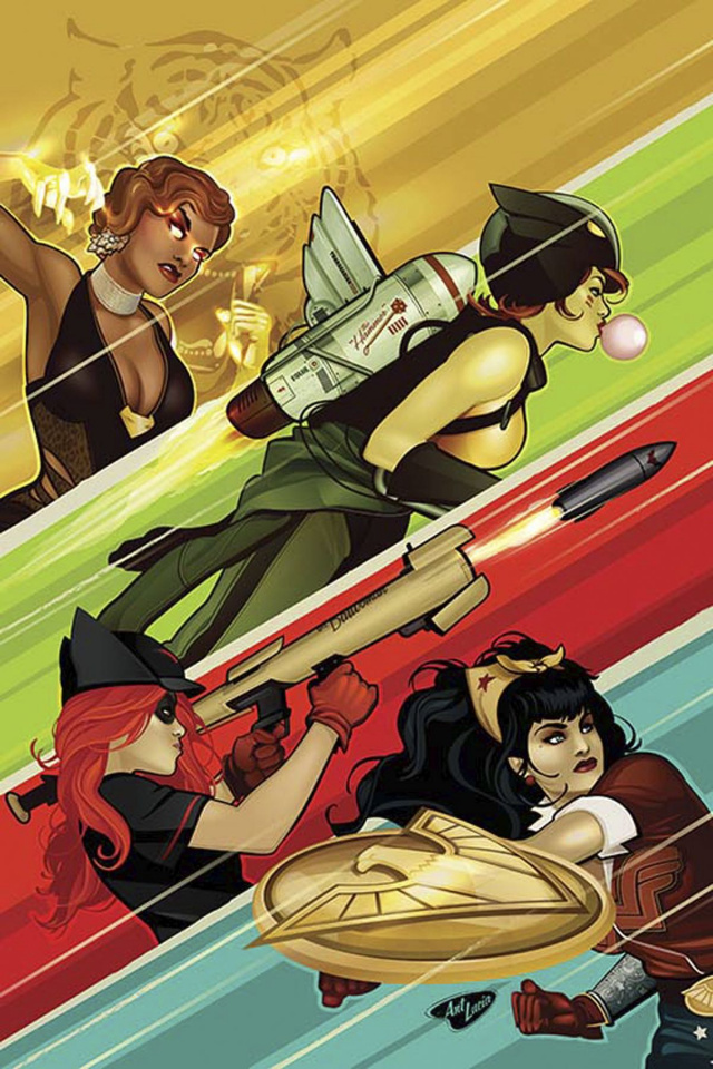 DC Comics Bombshells #24