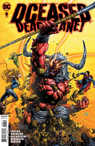 DCeased: Dead Planet #6 (David Finch Cover)