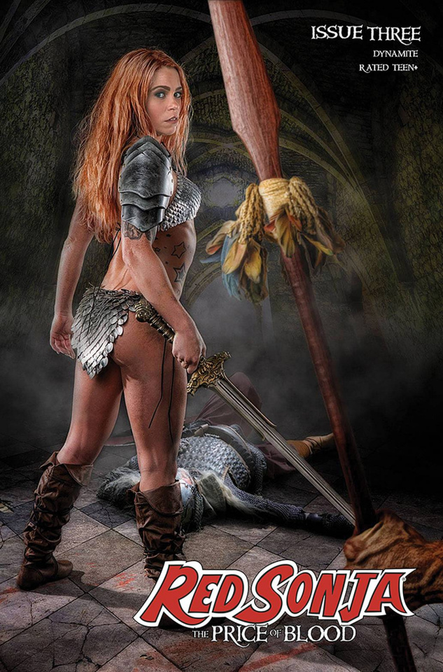 Red Sonja: The Price of Blood #3 (Ray Cosplay Cover)