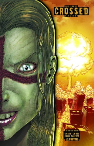 Crossed: Badlands #25 (Die Cut Cover)