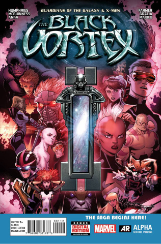 Guardians of the Galaxy and the X-Men: The Black Vortex Alpha #1 (2nd Printing)