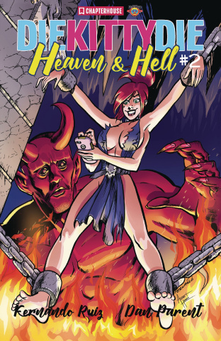 Die Kitty, Die! Heaven & Hell #2 (Ruiz Cover)