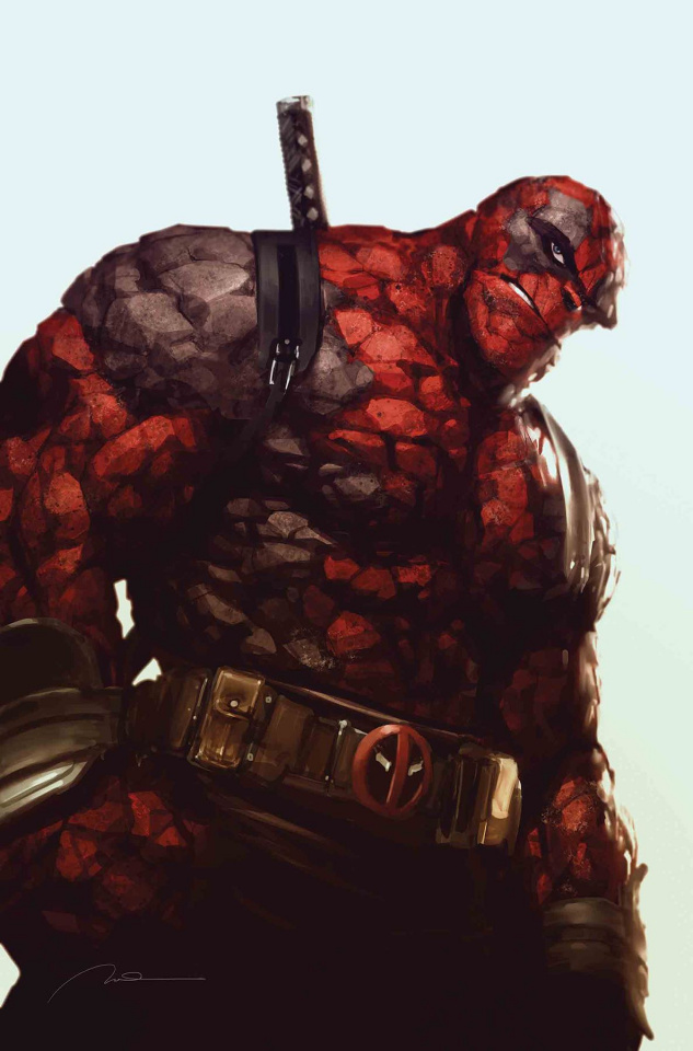 Marvel Two-In-One #6 (Parel Deadpool Cover)