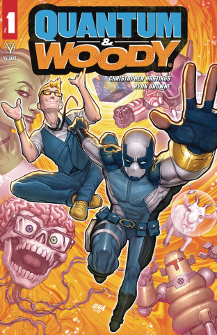 Quantum & Woody #1 (Nakayama Cover)