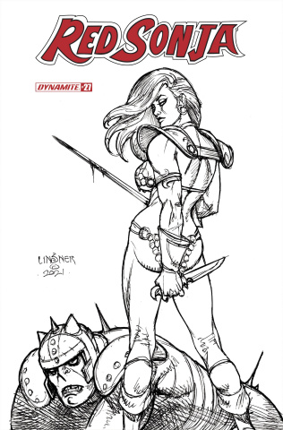 Red Sonja #27 (20 Copy Linsner B&W Cover)
