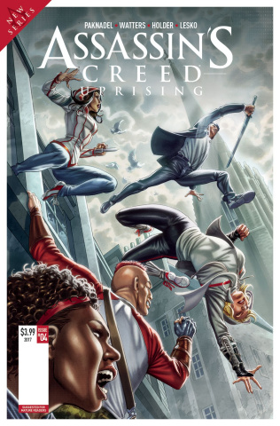 Assassin's Creed: Uprising #5 (Santucci Cover)