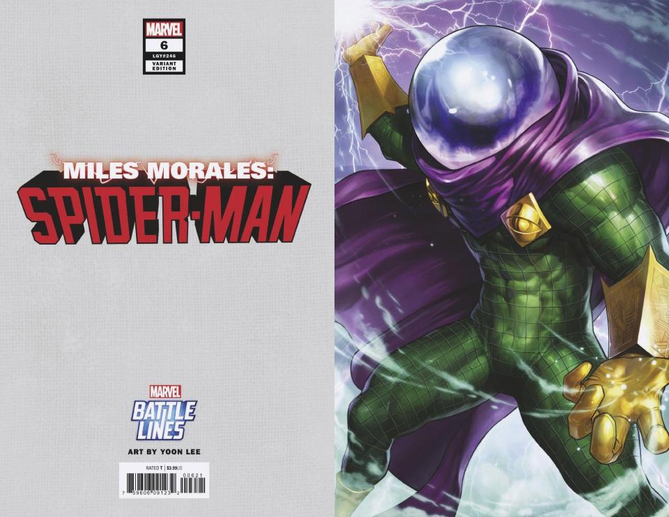 Miles Morales: Spider-Man #6 (Yoon Lee Marvel Battle Lines Cover)