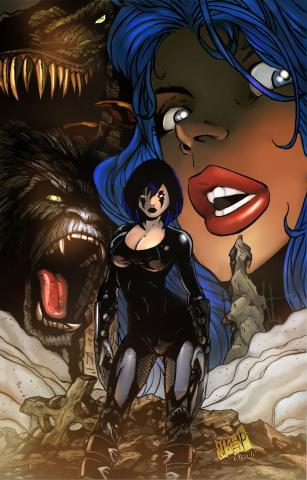 Cavewoman: Razor's Run #1 (Moreno Cover)