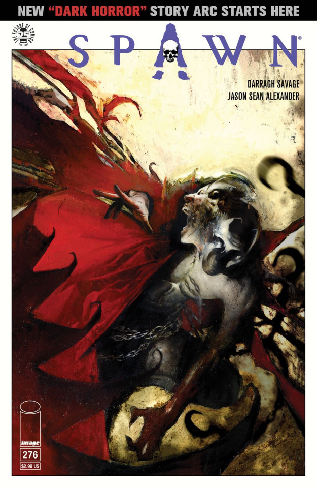 Spawn #276 (Alexander Cover)