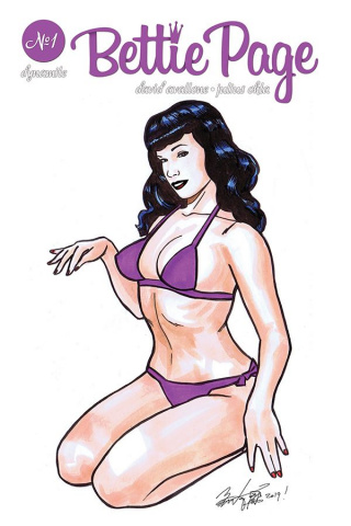 Bettie Page: Unbound #1 (Brian Kong Cover)