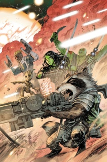 All-New Guardians of the Galaxy #2 (Henrichon Cover)