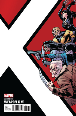 Weapon X #1 (Kirk Corner Box Cover)