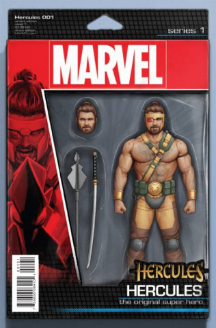 Hercules #1 (Christopher Action Figure Cover)
