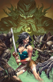 Grimm Fairy Tales Annual 2016 #1 (Pantalena Cover)