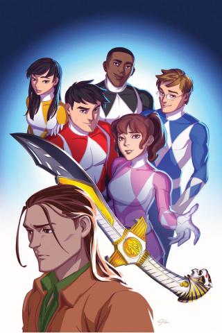 Go, Go, Power Rangers! #26 (JLou Cover)